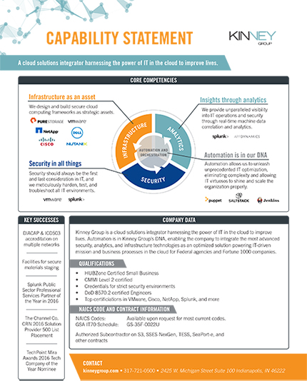 Click Here: Capability Statement